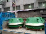 콘 쇄석기 부속을%s 맨틀과 사발 강선 또는 오목한