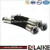 (2J9) Varón hidráulico de Jic del codo/adaptador de tubo femenino