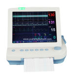 Monitor paciente Fetal Handheld portátil aprovado de equipamento médico do Ce