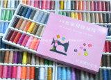 39PCS mezcló el kit de costura de los carretes del hilo de rosca de la materia textil del color