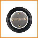 Lampe économiseuse d'énergie de nuit de détecteur de cliquetis de poussée de la lumière 5-LED de lampe à piles de la poussée DEL