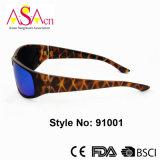 Zonnebril van de Sporten van de Manier van de luipaard de Af:drukken Gepolariseerde voor Vrouwen (91001)