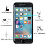 Fabriek Highquality 0.3mm 9h 2.5D Round Edge Mobile Phone Tempered Glass Screen Protector voor iPhone 7