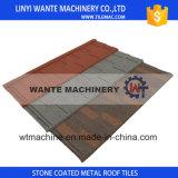 Telhas de telhado populares internacionais, telhas de telhadura Pedra-Revestidas coloridas do metal