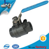 Carbonio Steel 2PC Thread Ball Valve