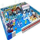 Matériel mou d'intérieur du monde de neige de glace avec la décoration de Noël
