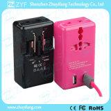 휴대용 이중 USB 출구 보편적인 여행 전력 접합기 (ZYF9000)