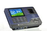 """máquina biométrica do pulso de disparo de tempo do comparecimento do empregado do registrador da impressão digital de 7 """" TFT com o leitor de cartão da identificação"""