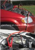 Cables de puente automotores del arrancador del coche/cables del aumentador de presión