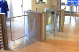 스테인리스 자동적인 RFID 카드 판독기 접근 삼각 십자형 회전식 문