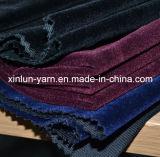 украшение 100%Polyester Flocking связанная ткань для конструкций софы установленных