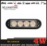 LED Lighthead Grille Light、CarおよびTruck WL52025b (LED-LIGHT-BAR 4W)のためのSurface Mounted LED Headlight