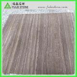 La parete di marmo di legno delle mattonelle del caffè lavora le mattonelle di pavimento