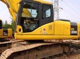 Excavador hidráulico usado KOMATSU original PC200-6 de Japón para la venta