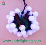 Día de fiesta de la luz de la bola de la cadena del LED para la decoración al aire libre