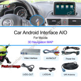 2014年のマツダのためのタュチ・コントロールAndroid Navigation + Video Interface Axela、Atenza、Cx5 Support Car DVR、Car Camera、TV