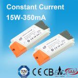 15W 350mA konstante Stromversorgung des Bargeld-LED mit TUV/Ce/CB/EMC/SAA