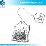 상자 포장기를 가진 안과 외부 티백 또는 나물