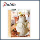 лоснистый прокатанный мешок цвета слоновой кости подарка покупкы бумажного венчания 210GSM бумажный