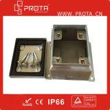 Impermeable acero inoxidable caja de conexión para uso al aire libre