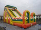 Corrediça inflável do divertimento de encerado Amusing do PVC da forma