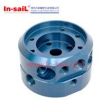 Fabricante de aço fazendo à máquina do OEM de China do bloco de cilindro do CNC