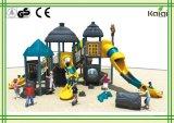 Série antiga plástica ao ar livre do tribo do tipo LLDPE do Campo de jogos-Kaiqi que Thatching o campo de jogos ao ar livre para crianças, área da casa de Residentional