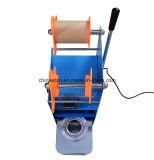 Macchina manuale di Seaing della tazza di tè di Dirigere-Vendita della fabbrica, sigillatore di sigillamento della tazza della macchina con il contatore di Digitahi