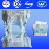 Wholesales descartável do tecido do bebê de algodão Unisex Diaper com Tapes Mágica (H422)