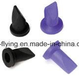 Grado Médico Moldeado de aire de silicona de caucho EPDM Válvulas de retención de pico de pato de oxígeno del respirador