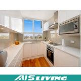 Venda quente da mobília pura do gabinete de cozinha do MDF do branco (AIS-K070)