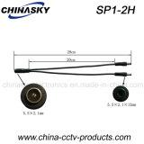 männliches Zopf-Kabel 12V Spannungs-Stecker-Verbinder CCTV-P.S. (SP1-2H)