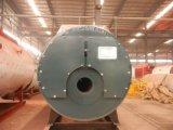 Gaz horizontal de tube d'incendie 3-Pass et chaudière à eau chaude au fuel à vendre