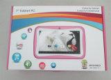 7 PC androide barata de la tableta de la base del patio de la pulgada Rk3126 para los cabritos que aprenden y que juegan el almacenaje 8GB