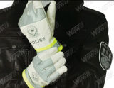 Luvas reflexivas da polícia de trânsito do algodão (FGST-WW02 (algodão))