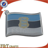 Pin bon marché de Cutom Crossed Friendship Flag avec Magnetic (FTFP1616A)