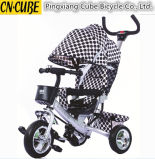 Игрушка 4 детей в 1 трицикле малышей, прогулочной коляске младенца