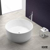 Acrylharz-Stein-reine weiße freistehende Badewanne