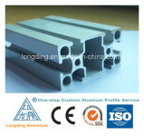 El proceso de aluminio de la protuberancia sacó metal