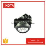 Indicatore luminoso capo dell'ABS LED per portare il faro ricaricabile all'ingrosso del LED