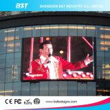 屋外の企業の広告のための高リゾリューションP6 SMD LED表示スクリーン
