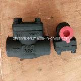 API602 a modifié le clapet anti-retour de piston d'extrémité de soudure de l'acier du carbone A105