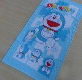 Esportazione al tovagliolo di spiaggia del gatto del Giappone Doraemon