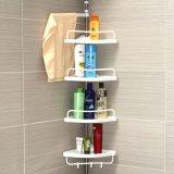Étagère extensible de salle de bains d'acier inoxydable