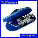Напечатанные таможней ботинки сандалии тапочки прочного PE мыжские