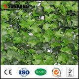 Folha plástica artificial natural da cerca do PE fresco Home da decoração com Ce do GV