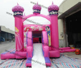 O melhor PVC Tarpaulin Bouncy Castle Prices/Inflatable Castle Princess de Standard 0.55mm