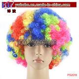 Spiele-Dekoration-Parteiafro-Haar-Perücke (PS2017)