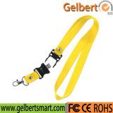 Movimentação do flash do USB da cinta da garganta do colhedor dos produtos novos para a venda