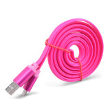 cable colorido del USB de la TPE 5V, 2A para el teléfono celular y Samsung, iPhone, Huawei